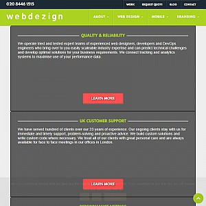 Active Web Design - London
