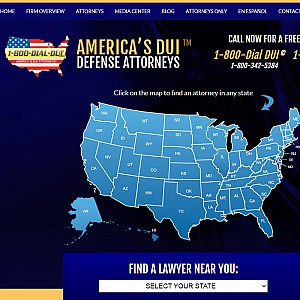 America's Top DUI Attorneys and DWI Attorneys Lawyer Directory