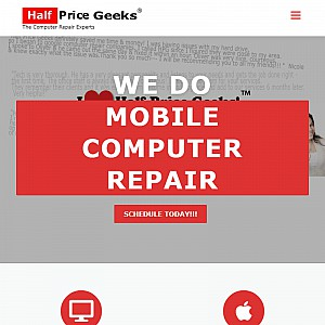Half Price Geeks ™ - Onsite Computer Repair, Upgrades and Training