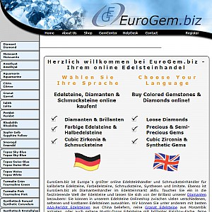 EuroGem.biz - Gemstones, Diamonds and More