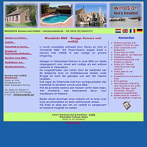 Belgium bed and breakfast Woodside Bruges accommodation