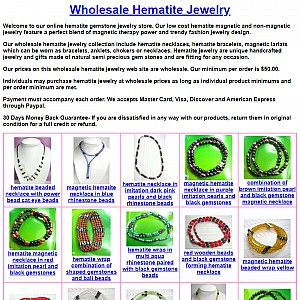 Hematite Jewelry Wholesale