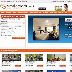 Cheap Citry Breaks, Short Breaks, Flights And Hotels In Amsterdam
