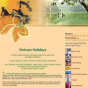 Haivenu Vietnam travel, Vietnam tours and holidays