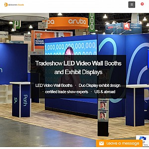 Airborne Trade Show Exhibit Display