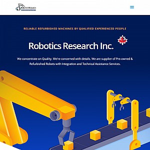 Robotics Research & Integration is an integrator and supplier of New and Pre-owned Robots