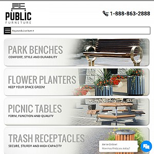 C.S. Environmental Inc. Provides North America's Premier Outdoor Furniture