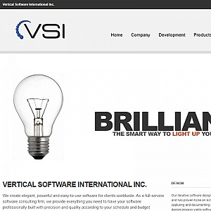 VSI - Vertical Software International Inc. Website