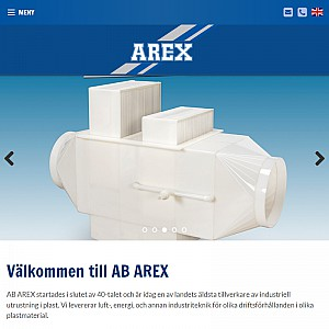 AB AREX - manufacture of plastic engineering for corrosive environments
