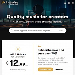 premiumbeat.com - Royalty Free Music Library