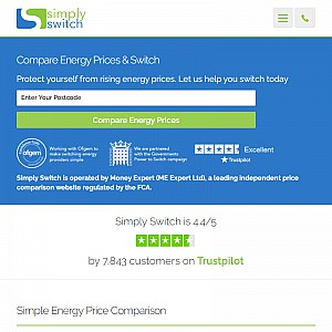 SimplySwitch - cheap gas, electricity, broadband, phone calls