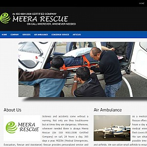 Air Ambulance, Medical Assistance, Medical Repatriation - Meera Rescue