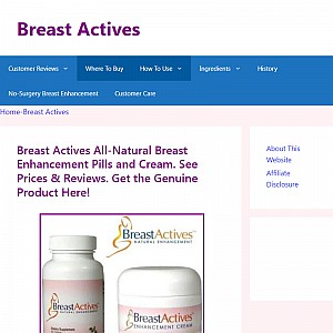 Breast Actives By Breast Gain Plus