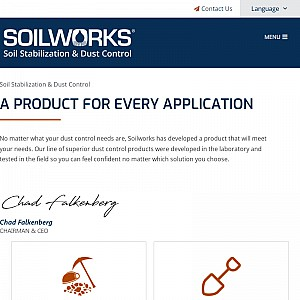 Soiltac Dust Control from Soilworks