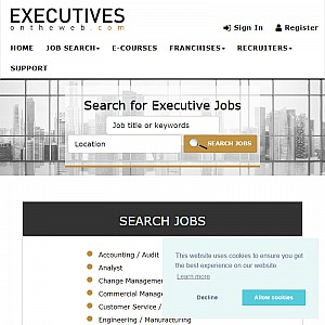 Senior Management and Executive Job Search