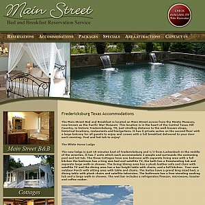 Main Street Bed and Breakfast Reservation Service