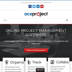 AceProject - Project Management