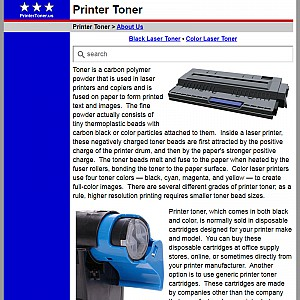 Printer Toner Cartridges
