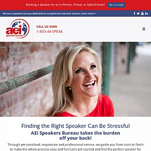 AEI Speakers Bureau