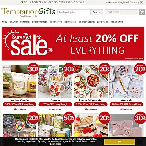 Gifts for Special Occasions from Temptation Gifts