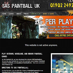 SAS Paintball UK