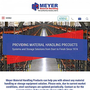 Quality Material Handling and Storage Solutions