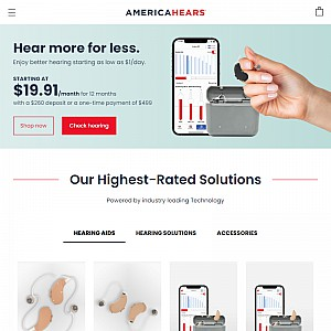 America Hears Digital Hearing Aids