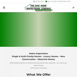 The Home Inspection Company-Certified Master Home Inspector Ohio