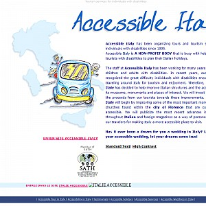 Disability travel. Tourism services for individuals with disabilities.