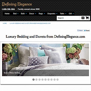 Luxury Bedding and Duvets