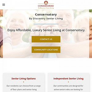 Conservatory Senior Living - Texas Retirement Communities