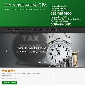 New Jersey accounting and tax services by Hy Appelbaum CPA
