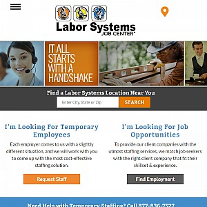 Temporary Employment and Staffing Services@laborsystems.com