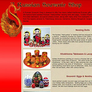 Russian Nesting Dolls and Souvenirs