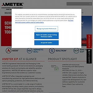AMETEK Electronic Components and Packaging (ECP)