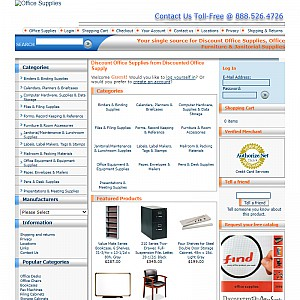 Discount Office Supplies - Office Furniture, Desks, Chairs and Janitorial Supplies