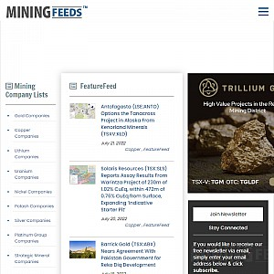 Mining Investment Information Resource