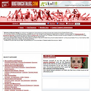 Boston Catalog - Largest Business Directory in Greater Boston Area in Ma