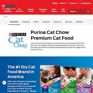 Cat Food and Information from CatChow.com
