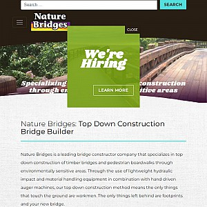 Bridge Company Specializing In Top-Down Construction