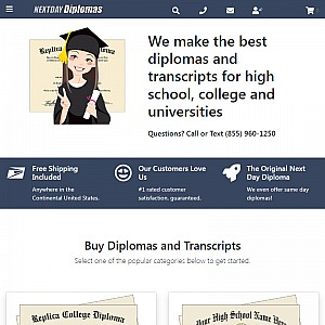 Diplomas Fake Transcripts. Authentic Fake Diplomas - Education