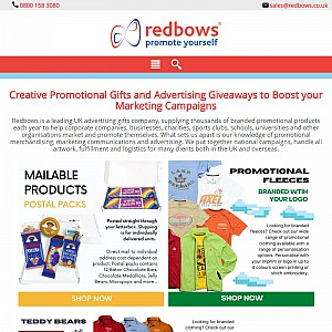 Promotional Gifts Supplier - Redbows Ltd.