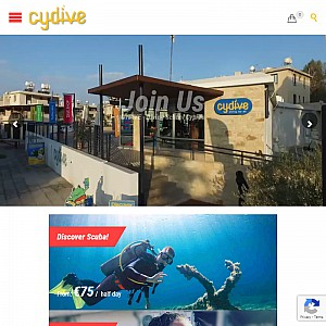 Cydive Cyprus scuba diving center
