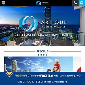 Surfers Paradise Accommodation At Artique Resort