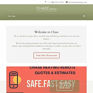 Chase Heating Stoves, Fireplaces and Cookers UK