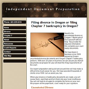 Oregon Divorce Forms