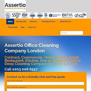 Assertio Contract Cleaning London