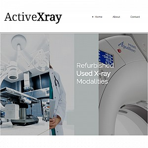 Active X-ray | Digital Healthcare Equipment, Preowned Medical X-ray