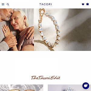 Designer Diamond Rings, Designer Diamond Earrings - Tacori
