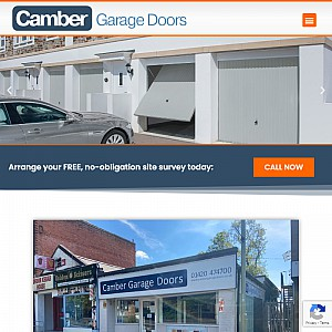 Camber Garage Doors - manual, automatic & electric garage doors